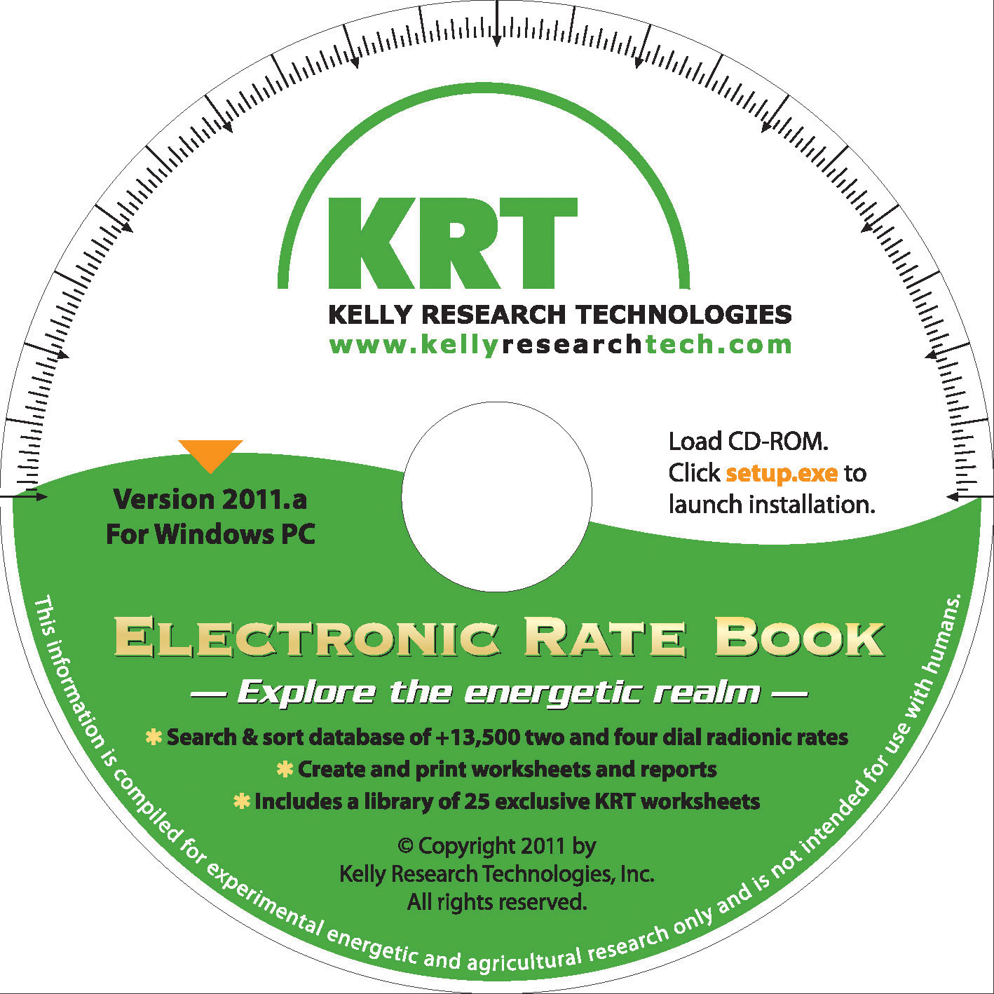 Electronic Rate Book